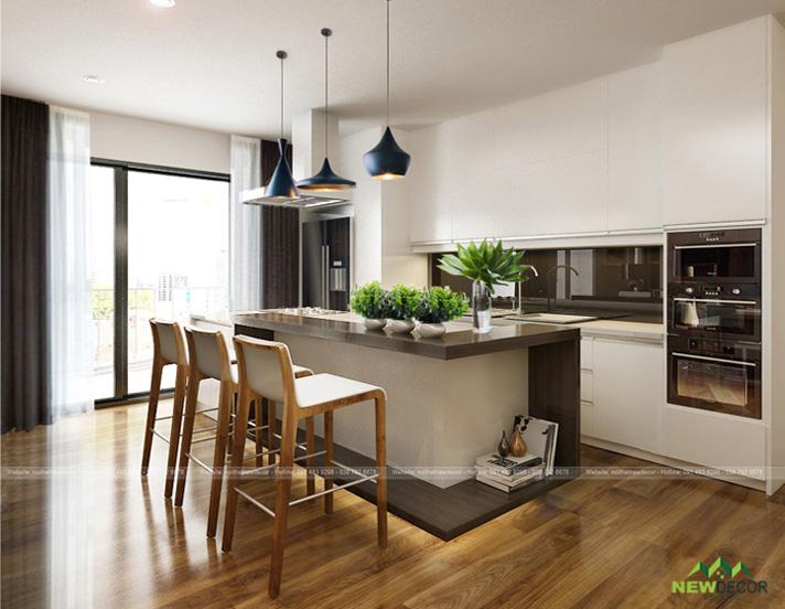 Mẫu thiết kế căn hộ đẹp - nội thất new decor