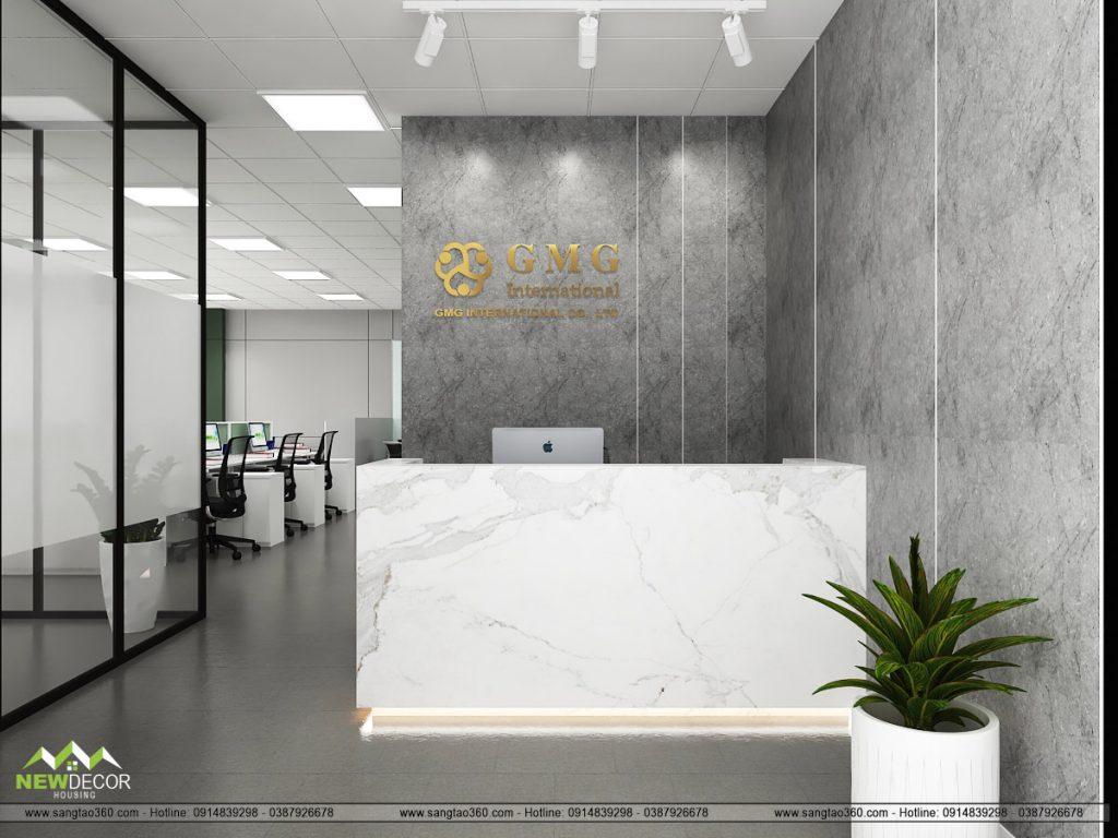 Thiết kế Văn phòng Đại diện GMS (ASIA PACIFIC) Limited tại Hà Nội đẳng cấp