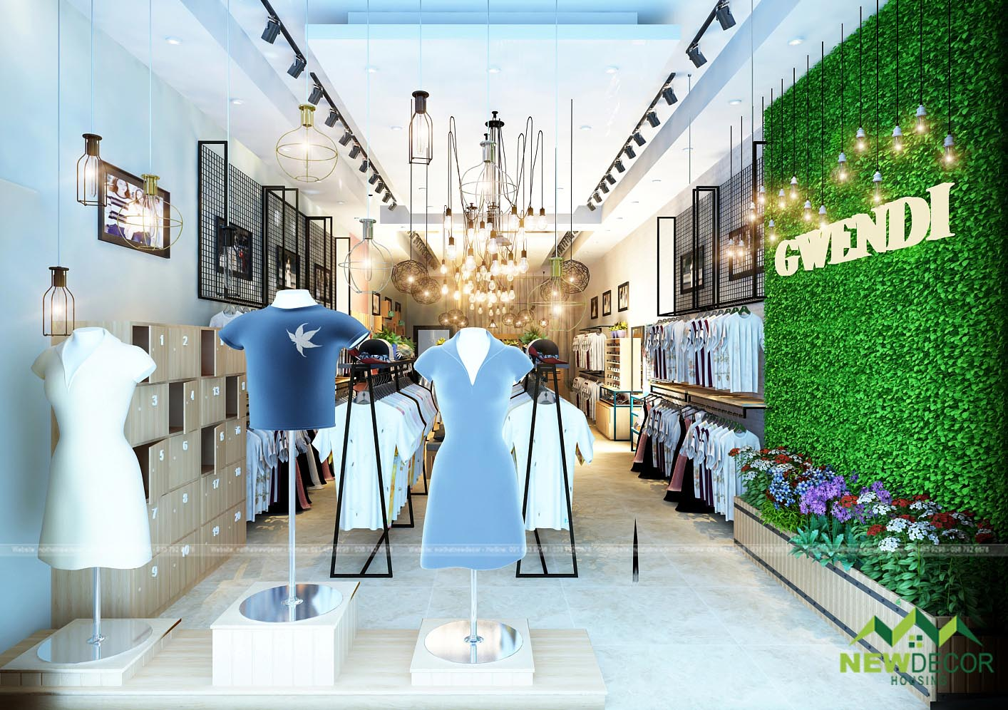 cửa hàng thời trang Gwendi